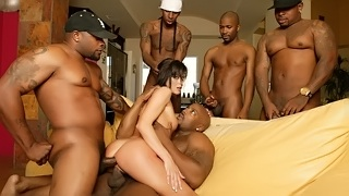 HD Porn, Dirty Talk, Facial, Handjob, Brunette, Doggystyle, Anal Play, Small Tits, Cum, Gangbang, Group Sex, Spanking, Big Black Cock, Interracial, Rough Sex, Black
